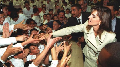 Queen Rania Reaches Out to Kids